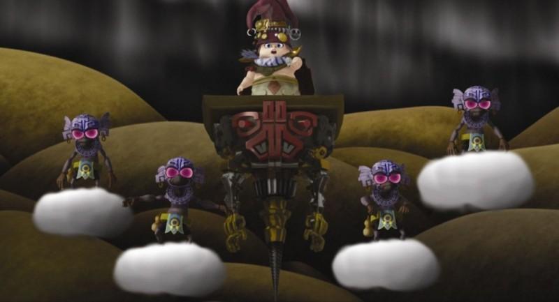 Un'immagine del film d'animazione Yona Yona Penguin