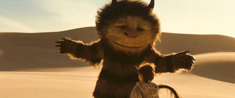 Un'immagine del film Nel paese delle creature selvagge