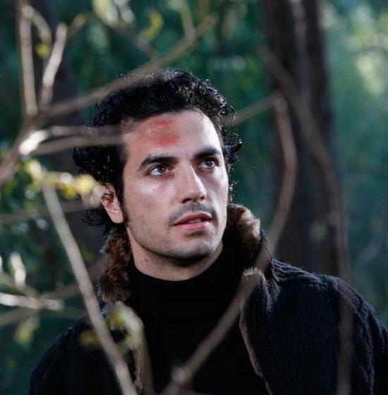 Un primo piano di Antonio Cupo nel thriller Smile