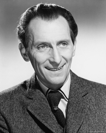 Una foto dell\'attorei Peter Cushing