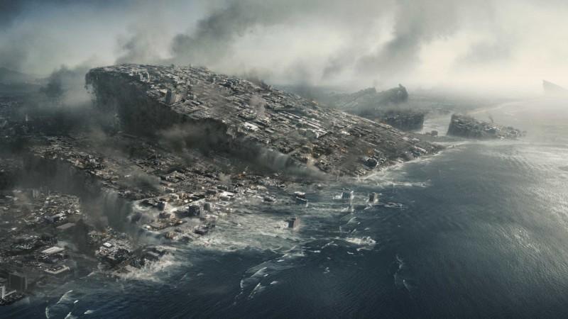 Una scena del catastrofico 2012
