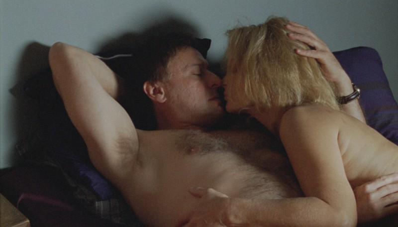 Una scena del film La ragazza che giocava con il fuoco di Daniel Alfredson