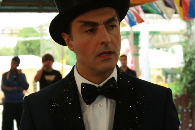 Antonio Stornaiolo in un'immagine del film Piede di Dio