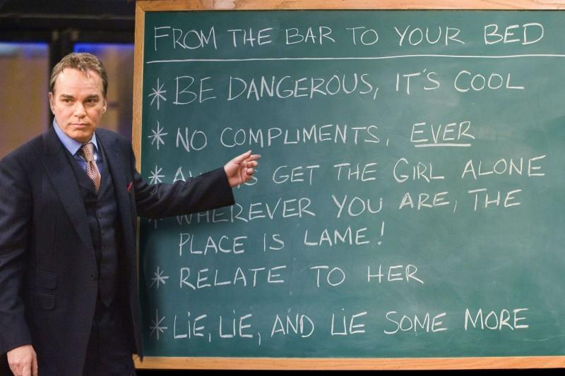 Billy Bob Thornton in una scena del film Scuola per canaglie