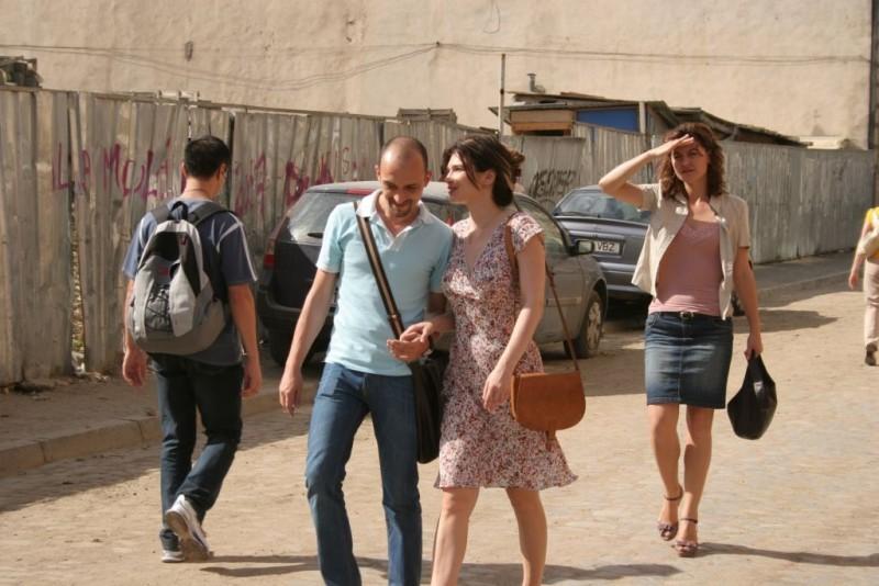 Dan Chiriac e Monica Barladeanu in una scena del film Francesca