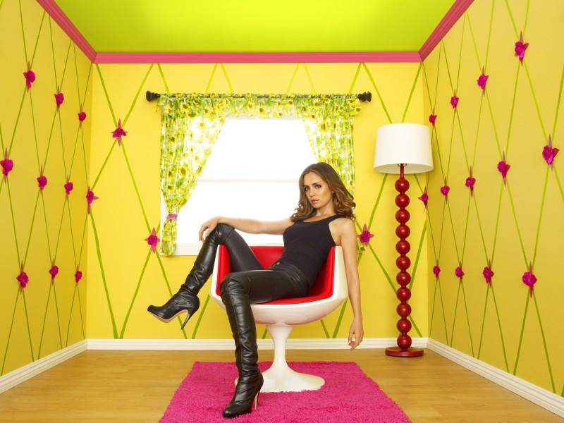 Eliza Dushku in una foto promozionale della stagione 2 di Dollhouse