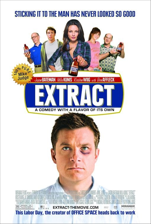 Final poster per il film Extract