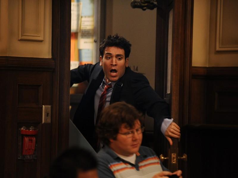 Josh Radnor in una scena dell'episodio Definitions di How I Met Your Mother