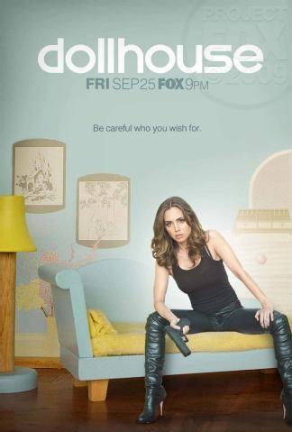 Poster della stagione 2 di Dollhouse - versione #1