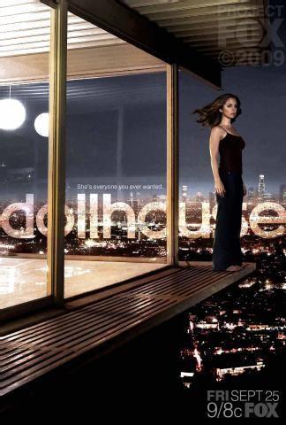 Poster della stagione 2 di Dollhouse - versione #2