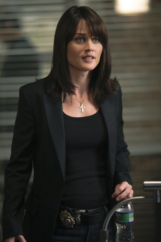 Robin Tunney in una scena dell'episodio Redemption di The Mentalist