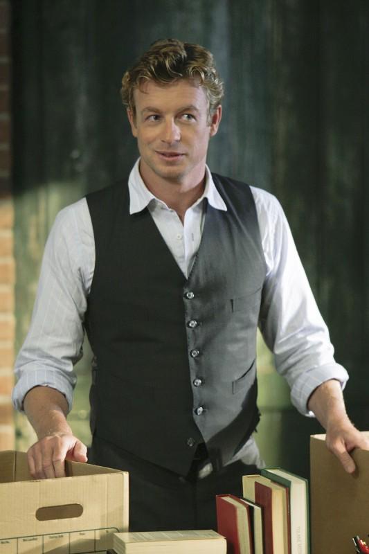 Simon Baker nella premiere della stagione 2 di The Mentalist