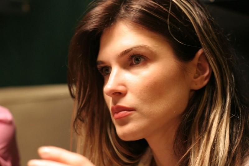Un primo piano di Monica Barladeanu, protagonista del film Francesca