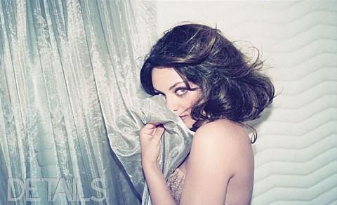 Una foto di Mila Kunis sul magazine Details