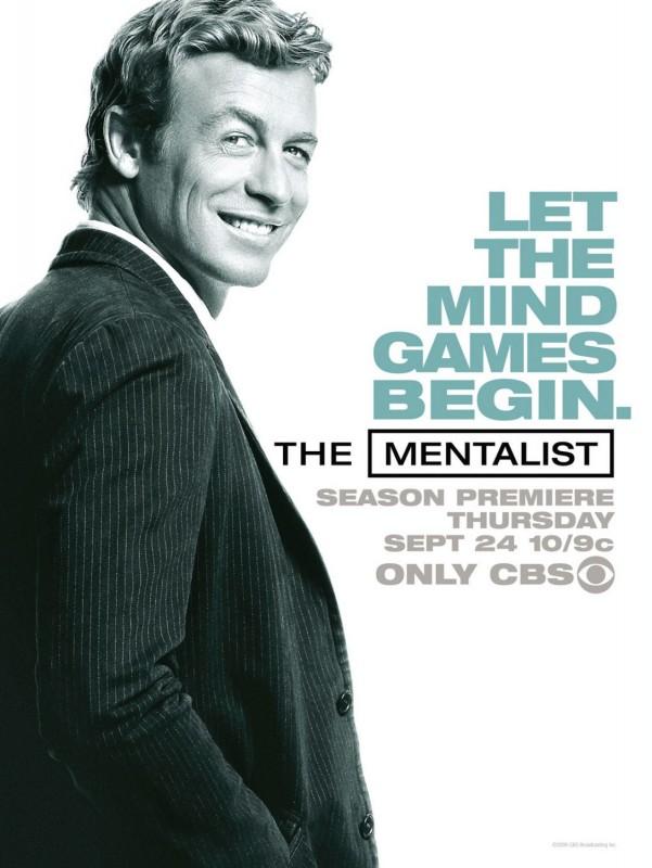 Un poster della stagione 2 di The Mentalist
