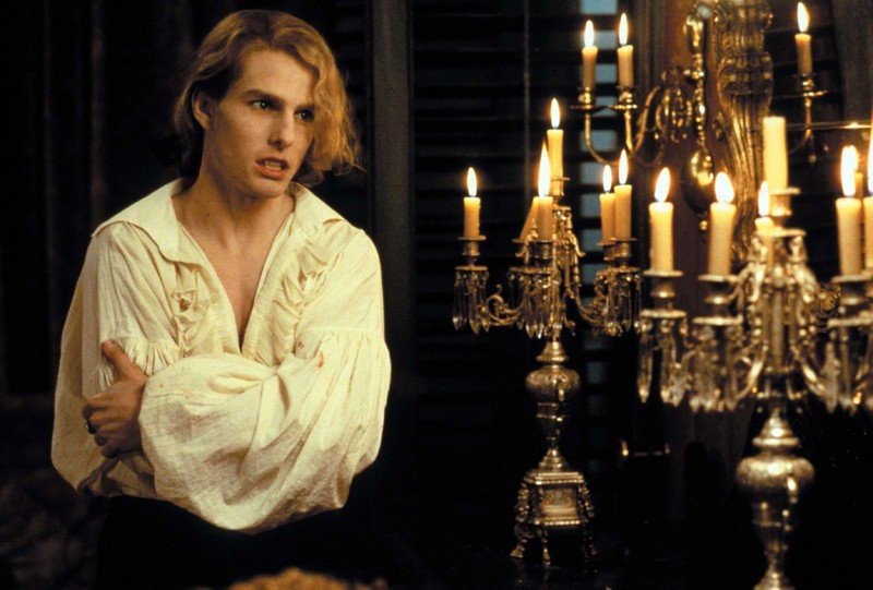 Tom Cruise è Lestat de Lioncourt nel film Interview with the Vampire