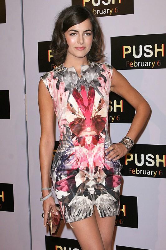 Camilla Belle alla premiere del film 'Push'