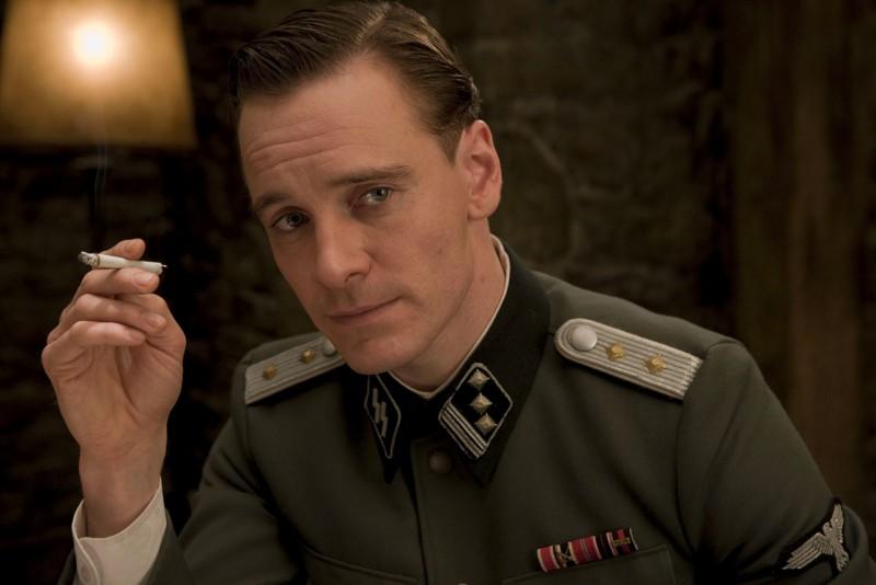 Michael Fassbender in un'immagine del film Bastardi senza gloria di Quentin Tarantino