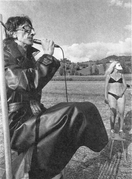 Franco Pistoni in Terrain Vague II per la regia di Loredana Putignani