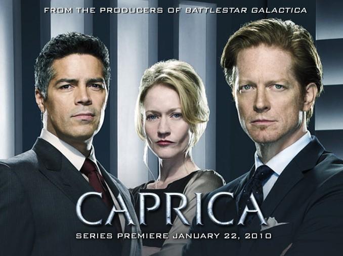 Immagine promozionale della serie Caprica