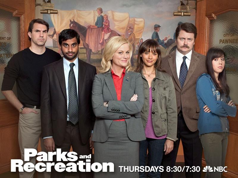 Immagine promozionale della stagione 2 di Parks & Recreation