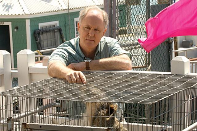 John Lithgow in una scena della stagione 4 di Dexter
