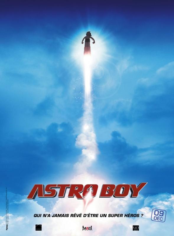 La locandina francese del film Astro Boy