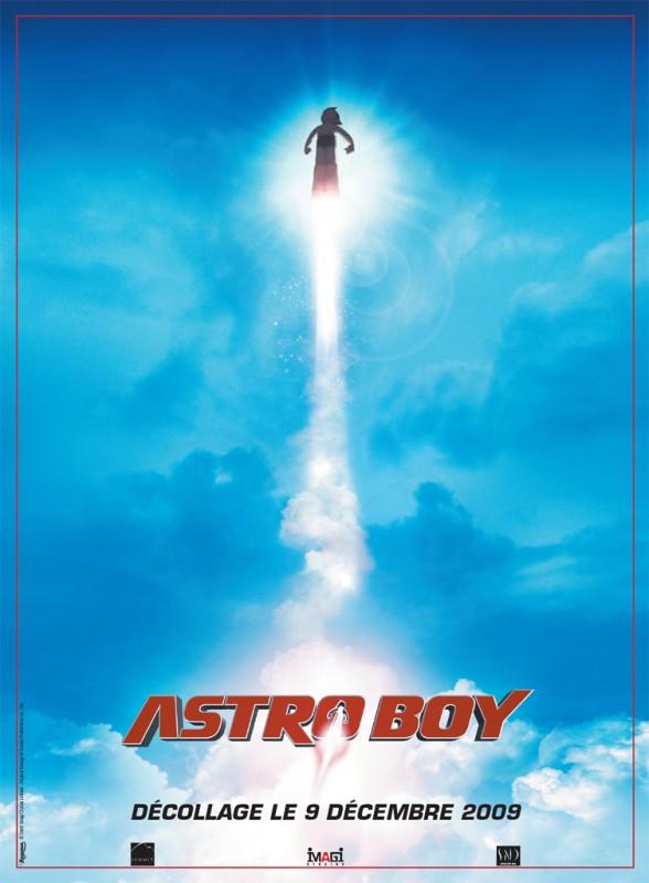 La locandina francese di Astro Boy