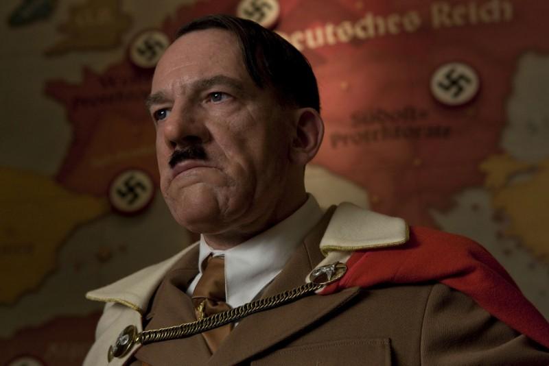 Martin Wuttke è Adolf Hitler nel film Bastardi senza gloria di Quentin Tarantino