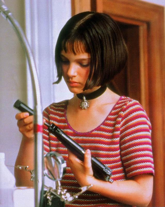 Natalie Portman in una scena di 'Leon: the Professional'