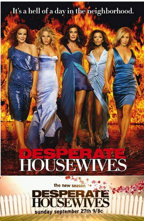 Poster della stagione 6 di Desperate Housewives