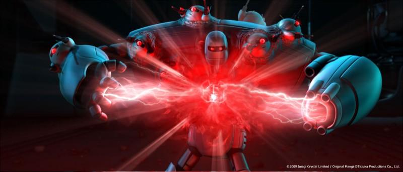 Un'immagine di Astro Boy, diretto da David Bowers