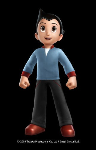 Un'immagine promozionale del film Astro Boy diretto da David Bowers