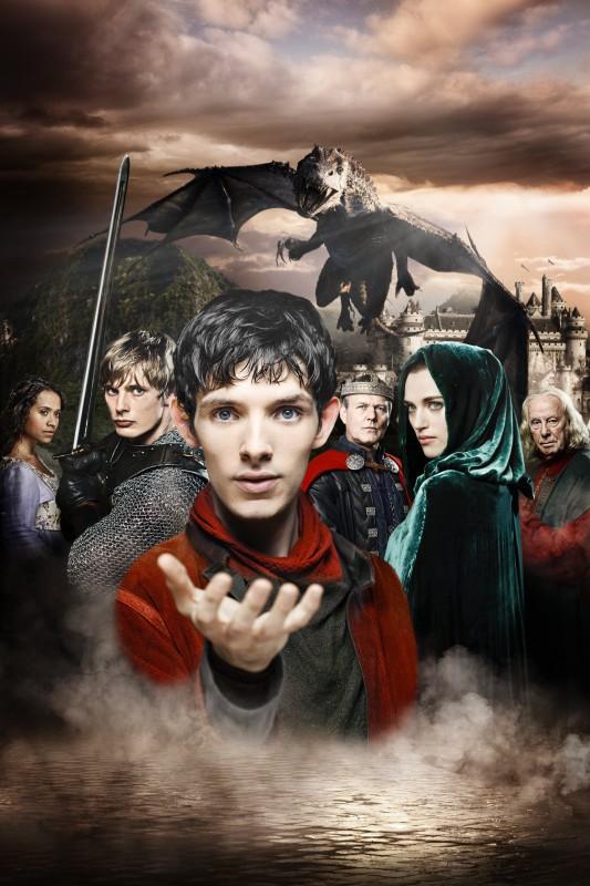 Un'immagine promozionale della stagione 2 di Merlin