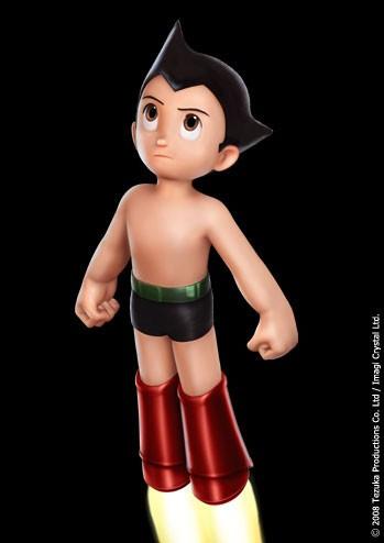 Un'immagine promozionale di Astro Boy