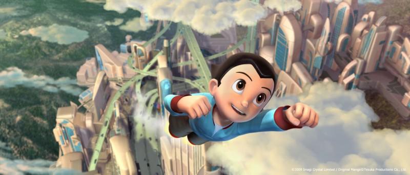 Un'immagine tratta dal film d'animazione Astro Boy, diretto da David Bowers
