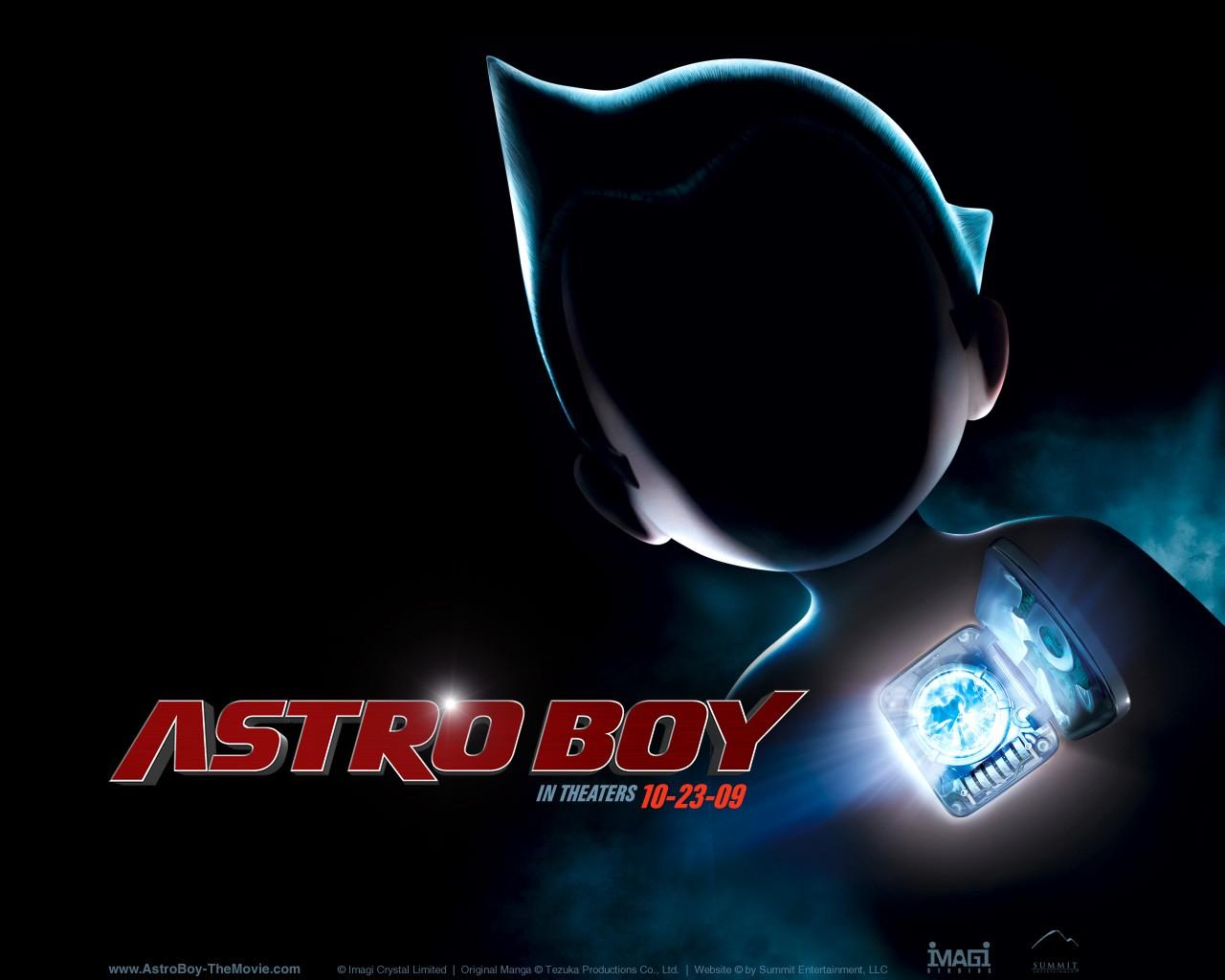 Un wallpaper di Astro Boy