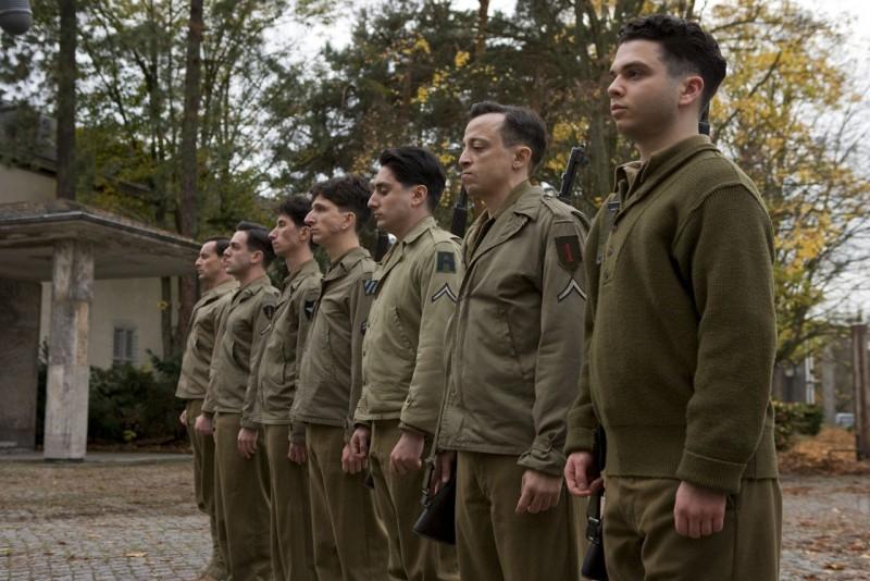 Una scena del film Bastardi senza gloria, war movie diretto da Quentin Tarantino