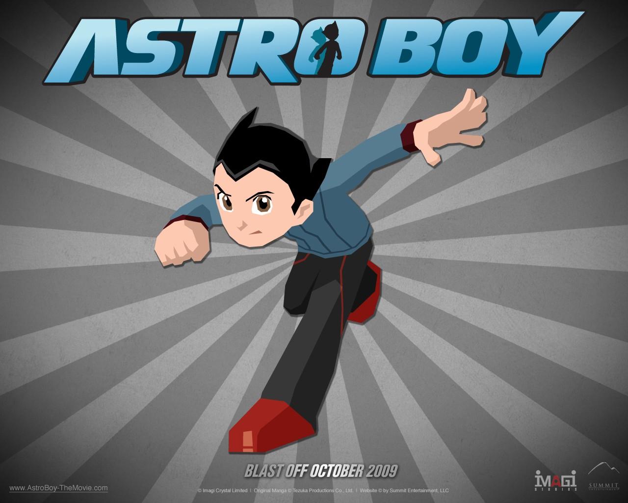 Wallpaper del film d'animazione Astro Boy