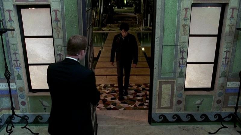 Bill (Stephen Moyer) si reca dalla 'Regina' in una scena dell'episodio 'New World In My View' della serie True Blood