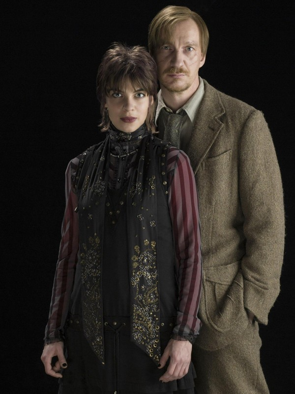 David Thewlis e Natalia Tena in una foto per il film di 'Harry Potter e il principe mezzosangue'