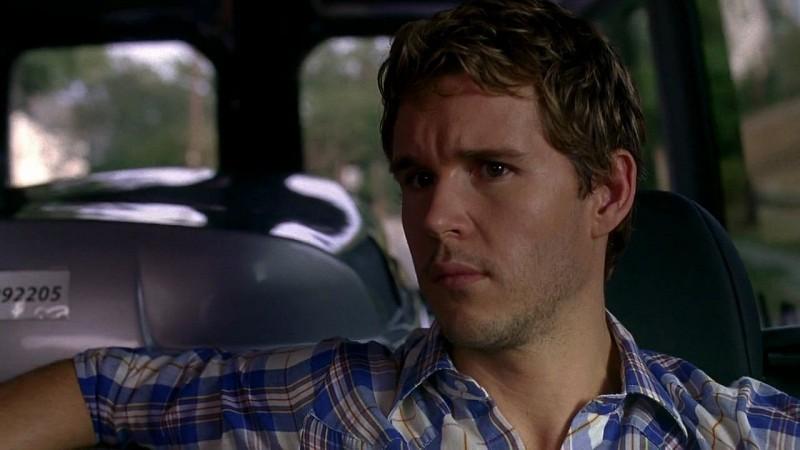 Jason Stackhouse (Ryan Kwanten) in una scena dell'episodio 'New World In My View' della serie True Blood
