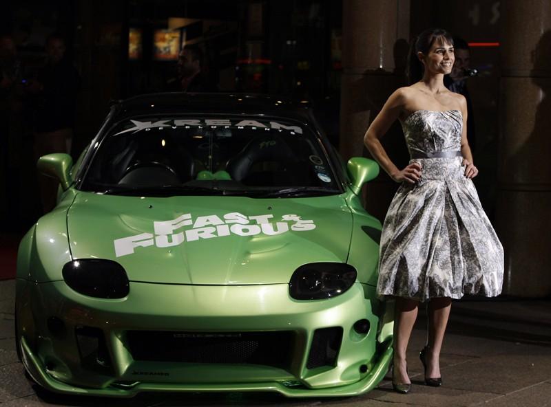 Jordana Brewster alla premiere inglese del film 'Fast and Furious - Solo parti originali', nel marzo 2009
