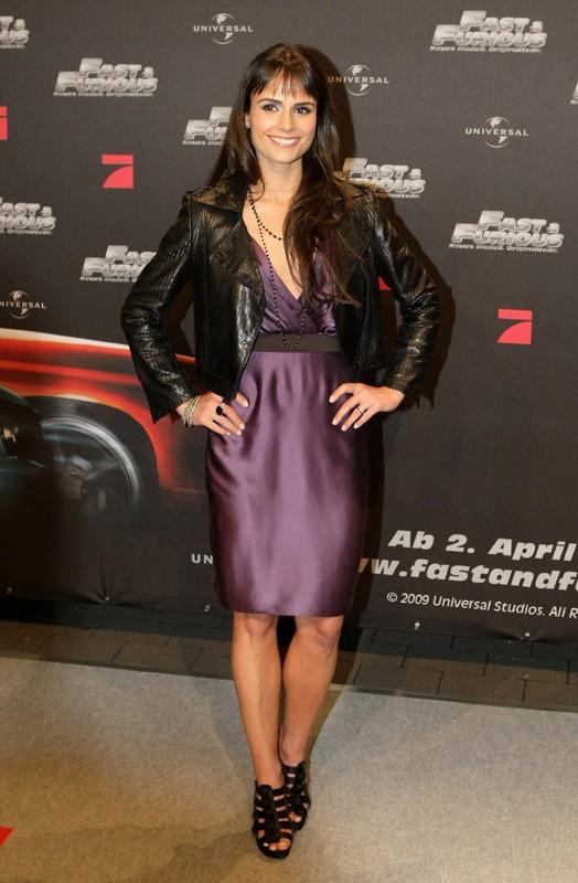 Jordana Brewster alla premiere tedesca del film 'Fast and Furious - Solo parti originali', il 17 marzo 2009