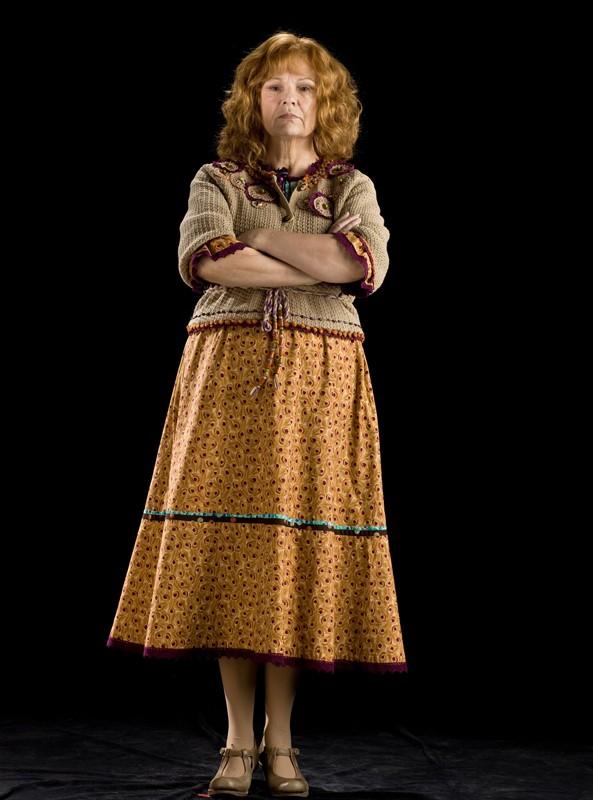 Julie Walters è Molly Weasley in una foto promo del film 'Harry Potter e il principe mezzosangue'