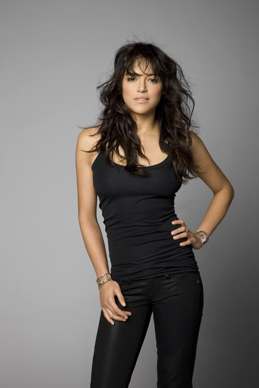 L'attrice Michelle Rodriguez per il film 'Fast and Furious - Solo parti originali'