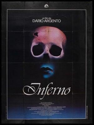 La locandina straniera del film Inferno ( 1981 )