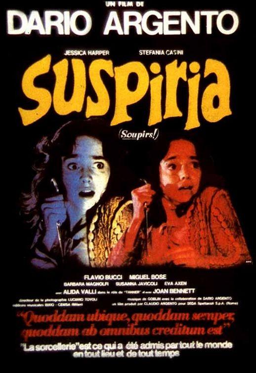 Locandina francese del film Suspiria