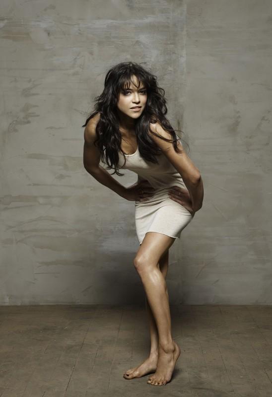 Michelle Rodriguez in una foto promo per il film Fast and Furious - Solo parti originali