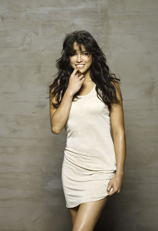 Michelle Rodriguez (Letty) in una foto per il film Fast and Furious - Solo parti originali